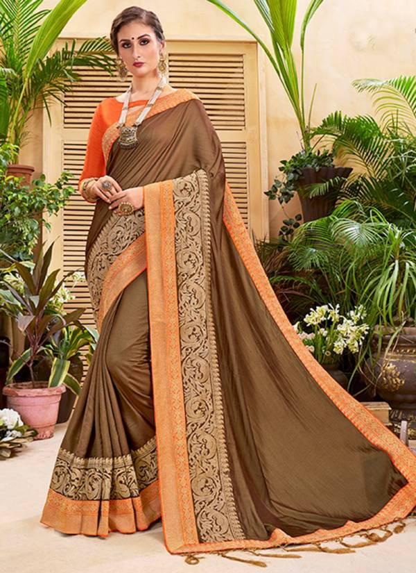 Saroj Sanskruti Series 52001-52008 Heavy Quality Silk Exclusive Party & Wedding Wear Sarees Collection