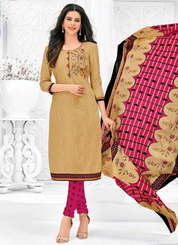 MCM Lifestyle Priyalaxmi Vol 19 Exclusivce Designer Pure Cotton Regular Wear Full Stitch Salwar Suits Collection