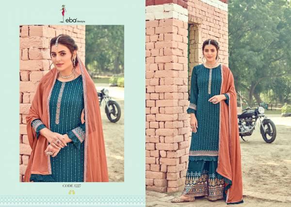 Eba Lifestyle Manjari Georgette Fancy Salwar Suit  Collection