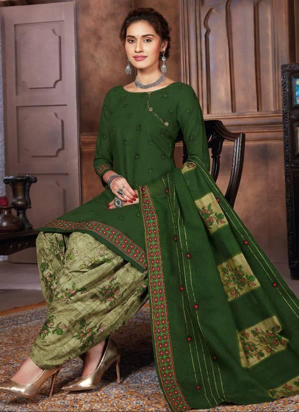 Baalar Zara Vol 8 Cotton Printed Readymade Patiyala Suit Collection