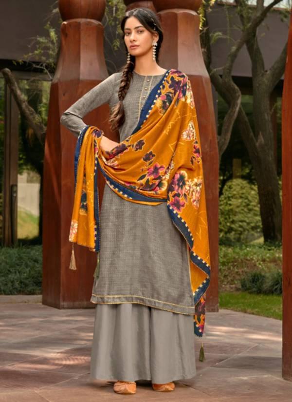 Sweety Fashion Gun Gun Series 1001GG-1008GG Pashmina Silk With Lace Daily Wear Palazzo Suits Collection