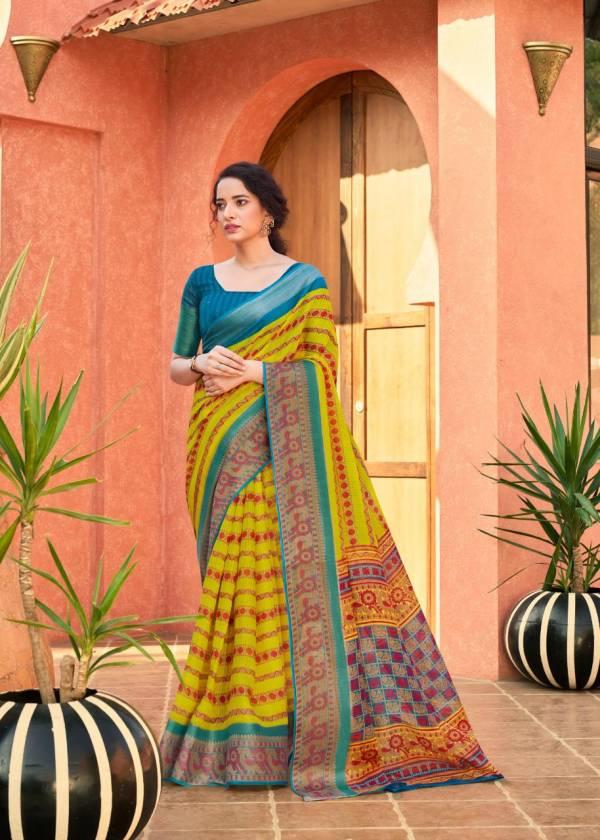 Glam Elegance Malang Pattu Series 25-36 Cotton Malang Pattu Designer Printed Regular Wear Sarees Collection