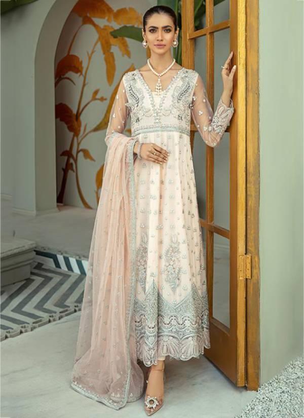Rawayat Imrozia Georgette Fancy Embroidery Work Trending Look Designer Pakistani Suits Collection