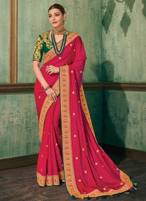 Nakshatra Fashion Studio Vol 17 Rangoli Silk And Banglori Silk With Embroidery Work Wedding Wear Sarees Collection