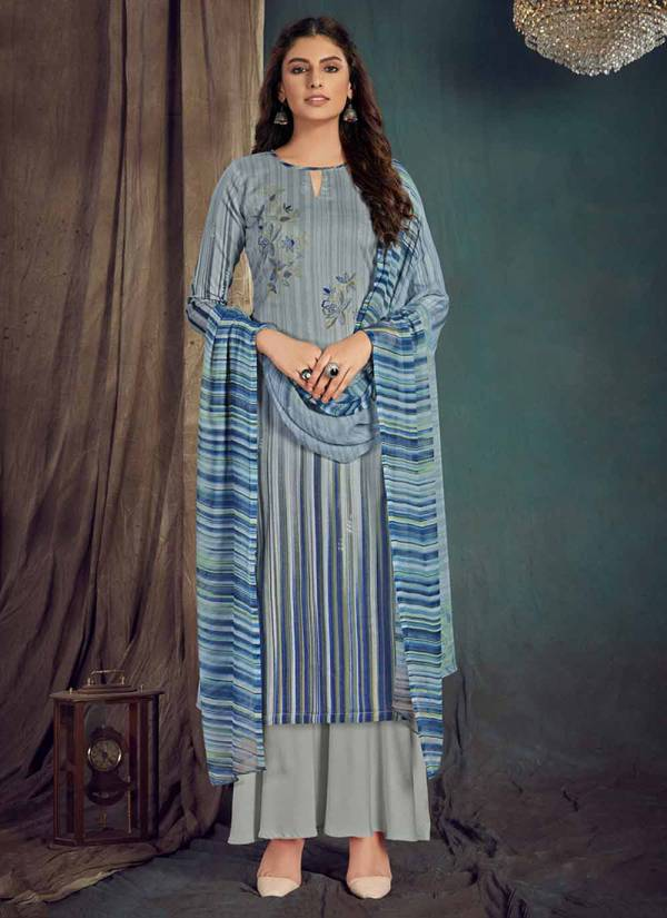 Alok Suit Nooriyat Series 629-001-629-010 Pure Jam Cotton Designer Printed New Fancy Daily Wear Palazzo Suits Collection