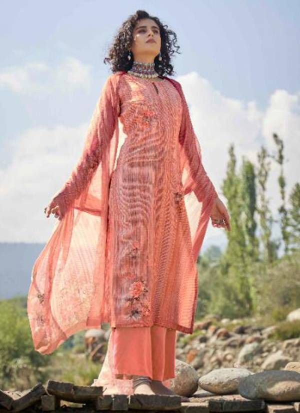 Winter Series 11001-11008 Pure Pashmina Designer Digital Print Fancy Hand Embroidery Work Salwar Suits Collection