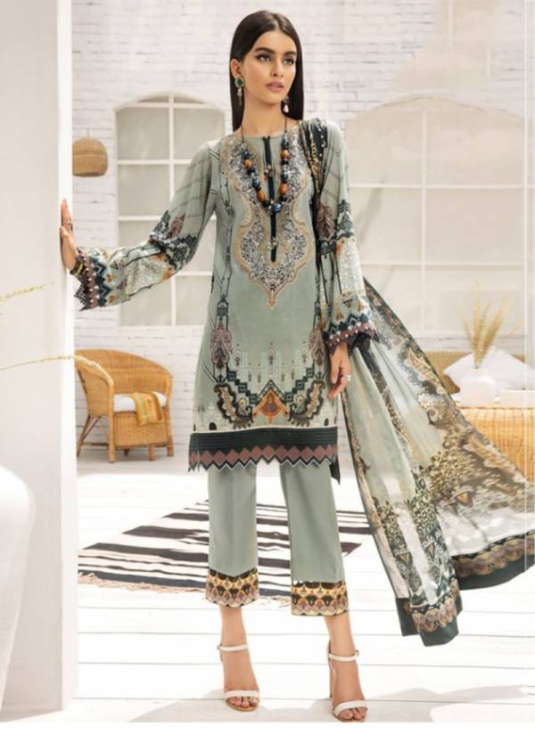 Kaara Firdous Lawn Vol 4 Series 4001FIRDOUS-4006FIRDOUS Pure Cotton Digital Printed With Embroidery Work New Designer Pakistani Suits Collection