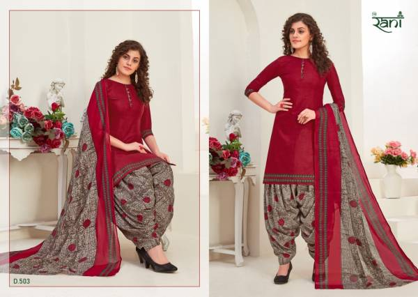 Rani Fashion Saira Patiyala Semi Lawn Cotton Printed Designer Patiyala Suits Collection