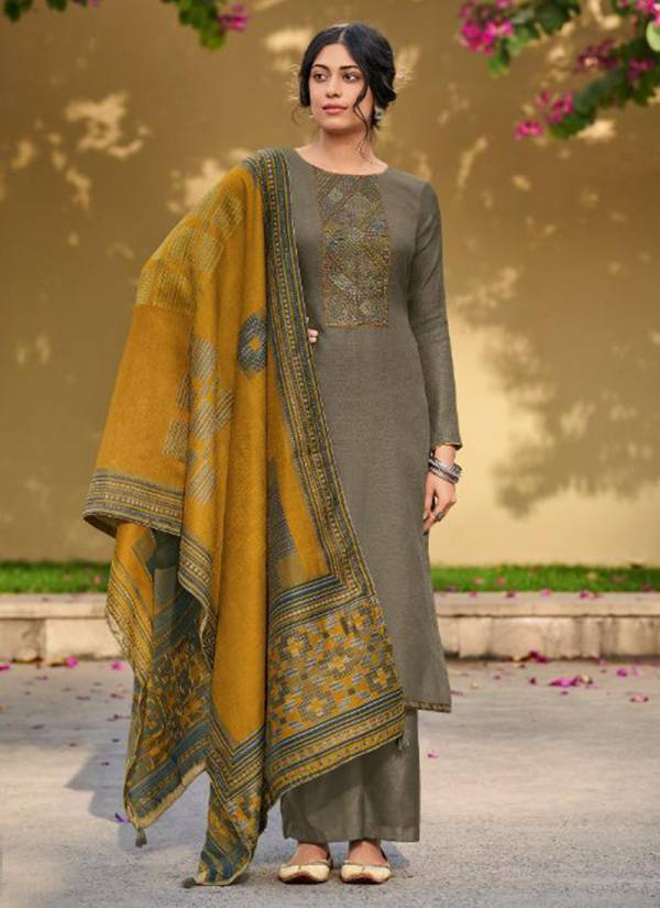 Deepsy Kaantha Series 96001-96006 Linen Silk With New Designer Kantha Embroidery Work Salwar Suits Collection