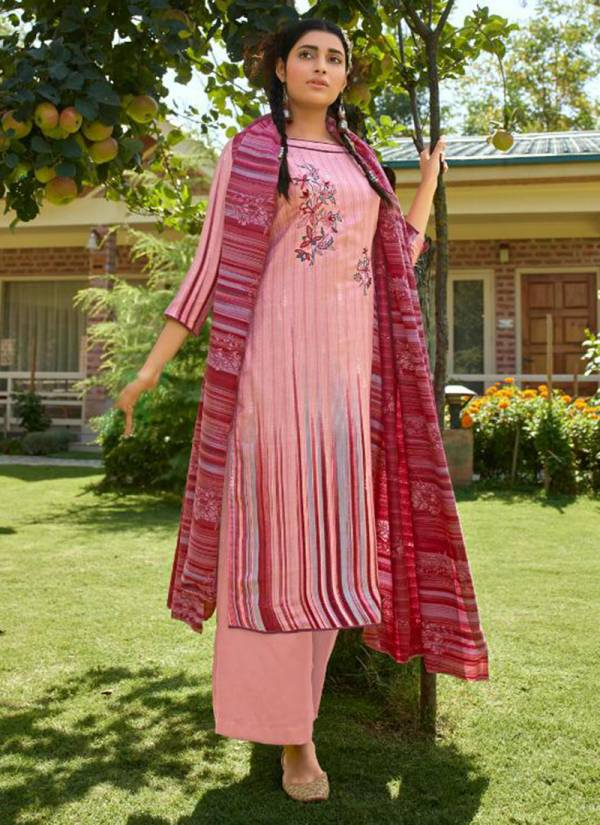 Kaara Patola Series 1001KP-1008KP Pure Wooven Pashmina Print With Embroidery Work New Fancy Daily Wear Palazzo Suits Collection