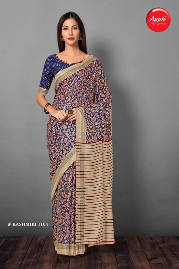 Apple Kashminri Vol 11 Pashmina Silk Latest Designer Sarees Collection