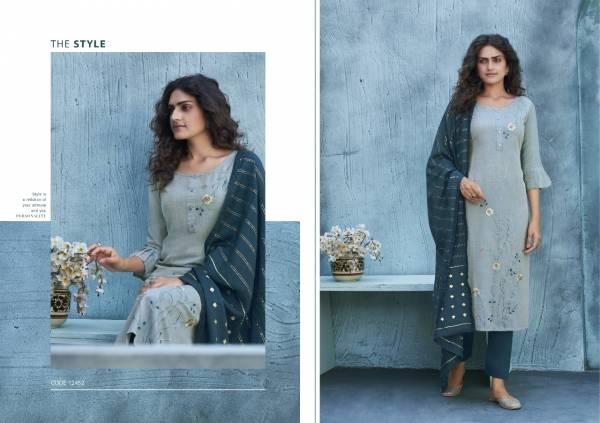 Kalaroop Titli Liva Silk With Fancy Embroidery Work Casual Wear Designer Salwar suit collection