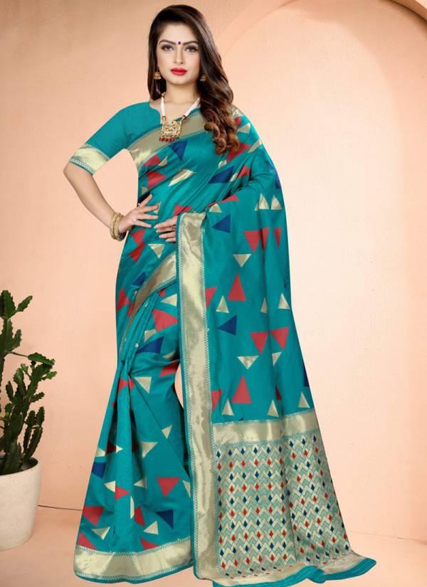 Nari Fashion Arpita Banarasi Art Silk With Rich Pallu Wedding Wear Sarees Collection
