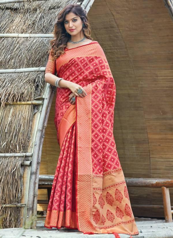 Sangam Patan Patola Silk Fancy Pallu Party Wear Designer Sarees Collection