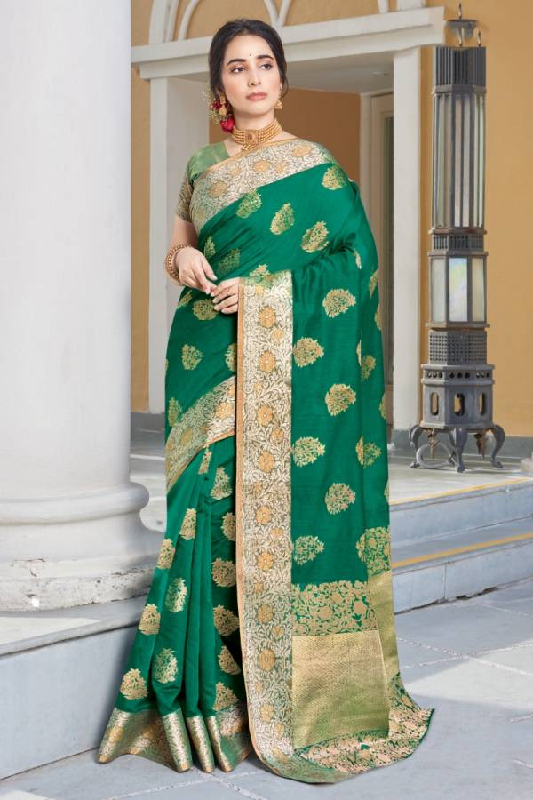 Sangam Prints Kajari Silk Digital print designer Sarees Collection