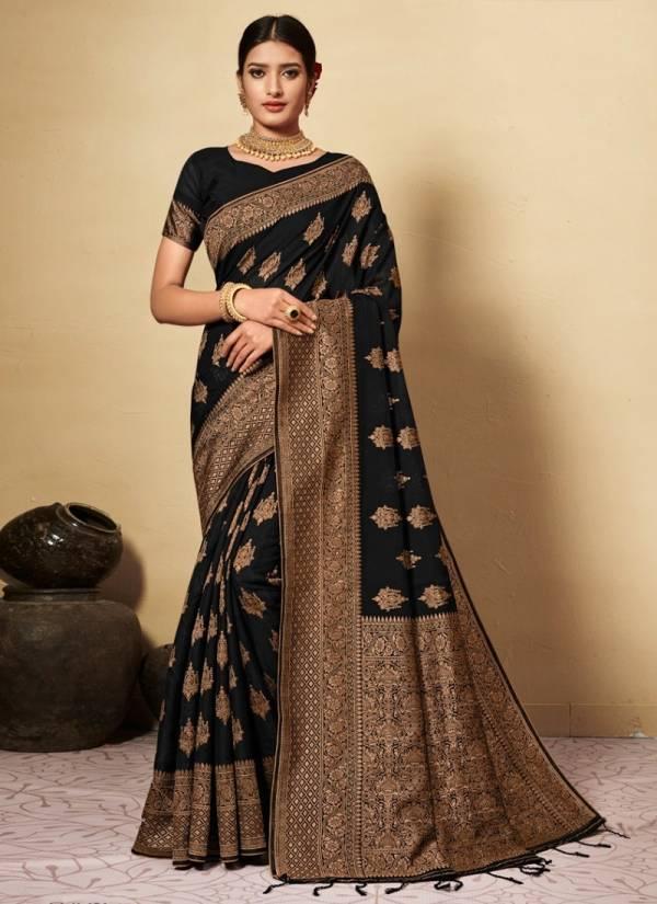Nakshatra Fashion Studio Chanderi Cotton With Butta Jaal in Rich Jacquard Pallu Party Wear Designer Sarees Collection