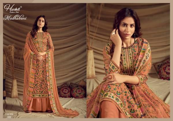 Alok Suit Madhubani Pure Zam Digital Kaani Print With Swarovski Diamond Work Palazzo Suits Collection