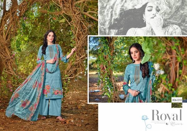 Zulfat Designer Suits Zoya Series 306-001 - 306-010 Pure Jam Cotton Digital Print With Swarovski Work New Fancy Palazzo Suits Collection