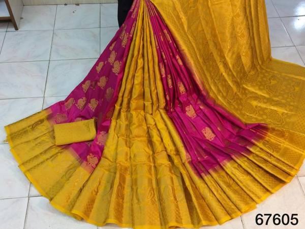 Nakshatra Fashion Studio Silk With Zari Weaving Reach Pallu Work Party Wear Designer Sarees Collection