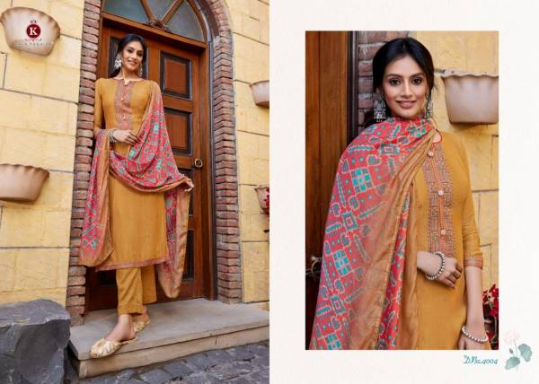 Kala Fashion Kala Muslin With Fancy Embroidery Work Straight Suits Collection