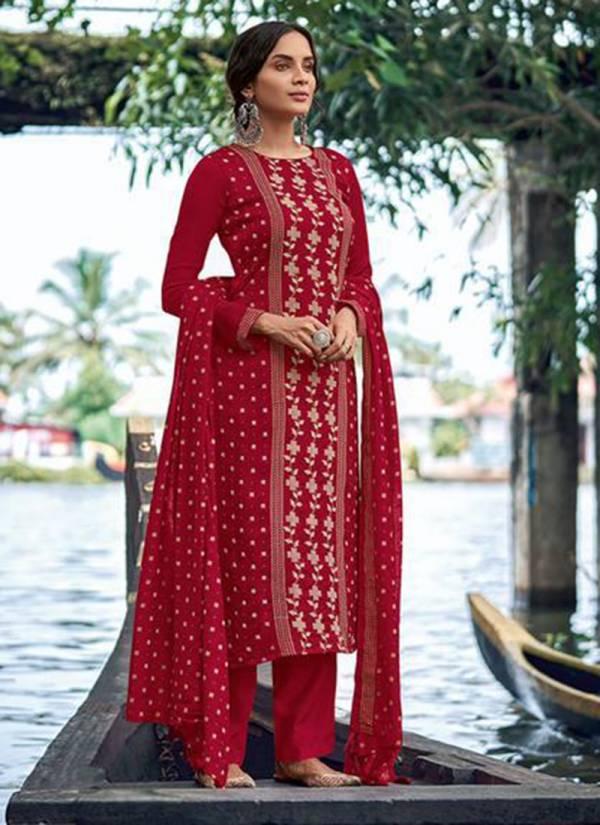 Deepsu Mist Series 93001-93006 Mini Silk With Hand Block Fancy Designer Salwar Suits Collection