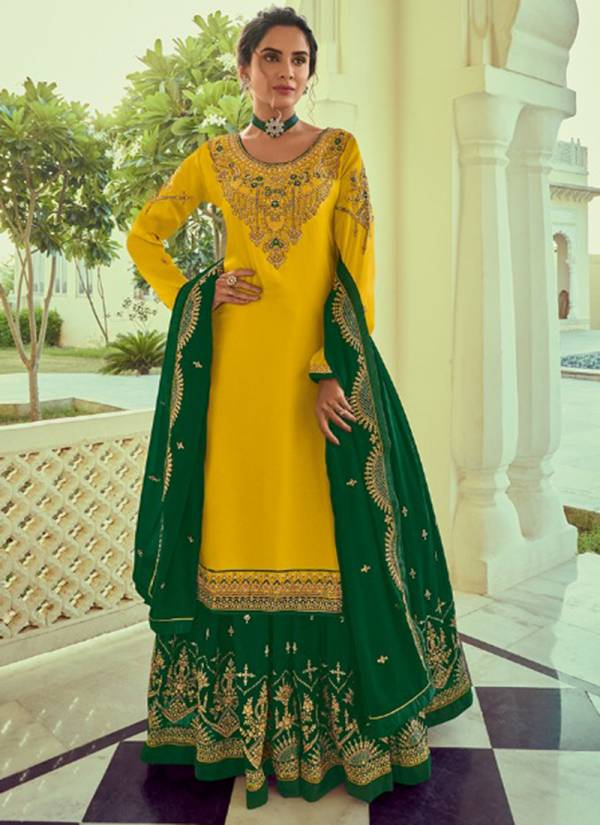 Amyra Designer Panghat Vol 8 Series 140-145 Georgette Satin With Heavy Embroidery & Diamond Work New Designer Lehenga Suits Collection