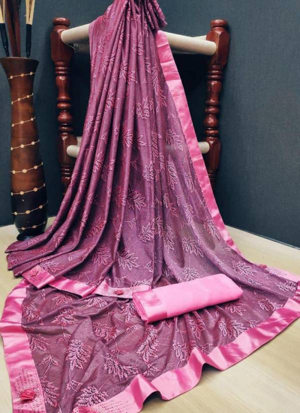 Ruhi Fashion Series 1-6 Soft Heavy Lycra Flower Printed Daily Wear Sarees Collection