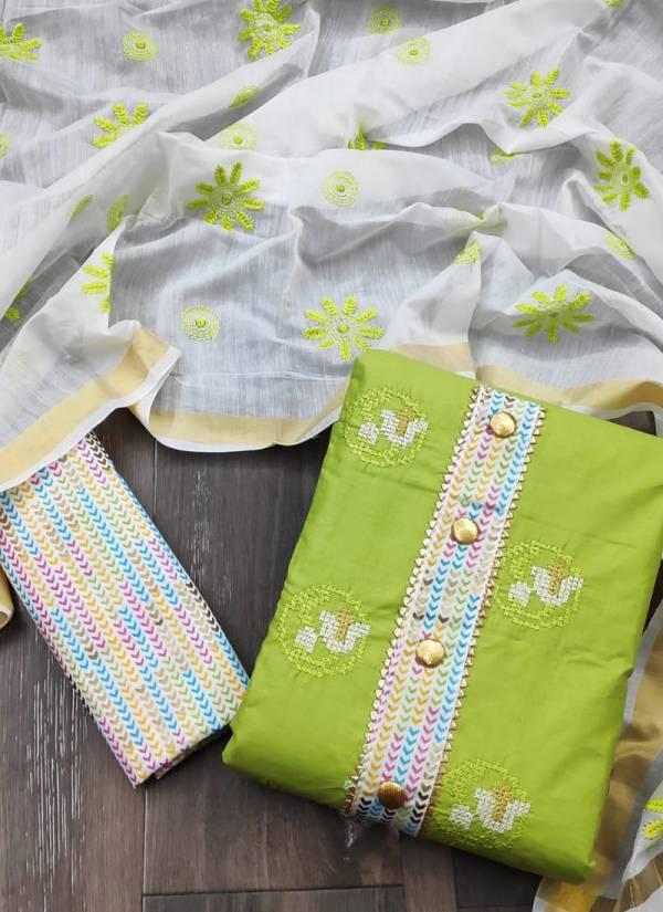 Gangour NX Series BJS1-BJS4 PC Cotton New Designer Printed Regular Wear Salwar Suits Collection