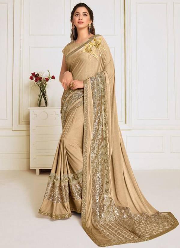 Mahotsava Tvishi Lycra With Rich Pallu Digital Print Wedding Wear Designer Sarees Collection