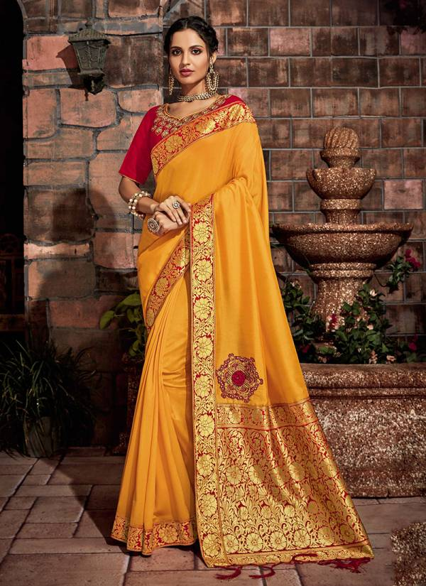 Mahotsav Rajasuya Georgette Silk Fancy Coding Work With Designer Rich Pallu Festival Wear Designer Saree Collection
