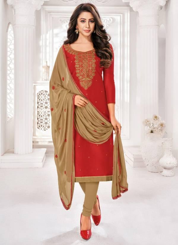 Kapil Tex Gehna Vol 7 Soft Cotton Neck Work Wedding Wear Beautiful Salwar Suits Collection