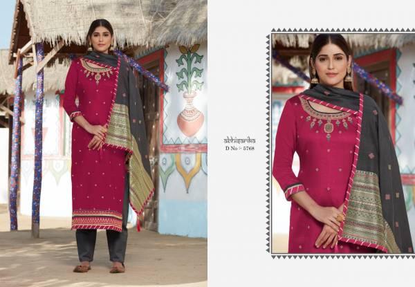 Kessi Raj Gharana Vol 2 Jam Silk With Khatli Work Festival Wear Suits Collection