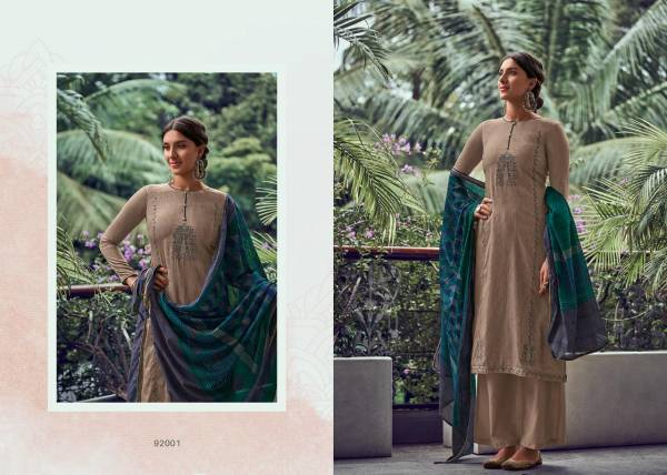 Deepsy Panghat Vol 11 Series 92001-92006 Jam Cotton Printed With Self Embroidery Work Designer Palazzo Suits Collection