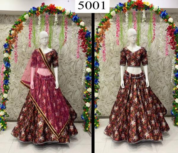 Arpi Fashion Peafowl Vol 66 Satin Zari Latest Designer Party Wear Lehenga Cholis Collection