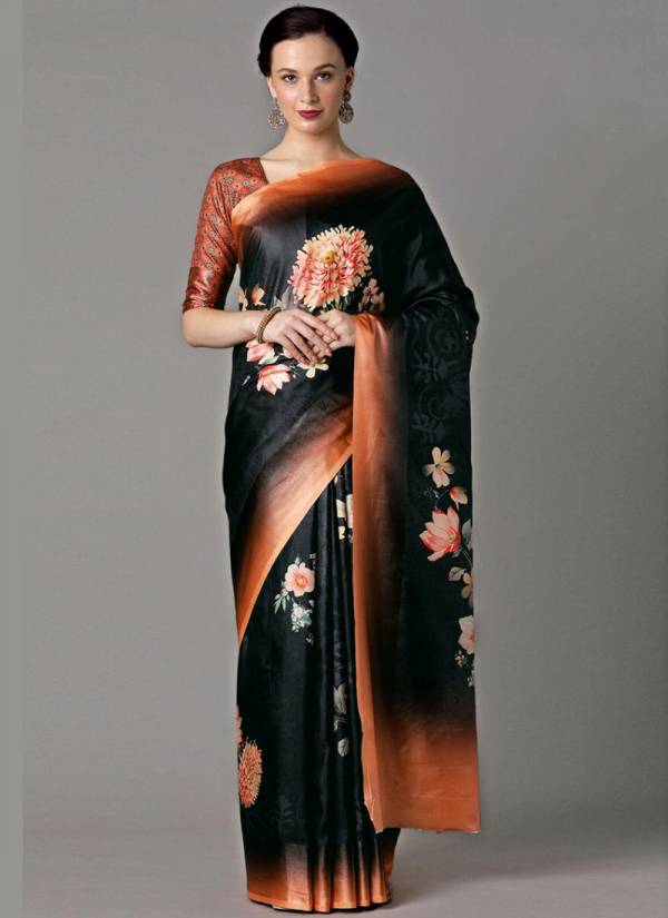 Apple Flowery Classic Vol 7 Dola Patta Silk With Digital Printed Exclusive Designer new Sarees Collection