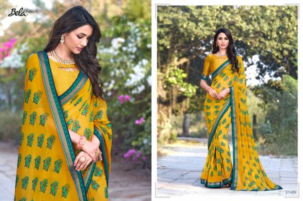 Bela Fashion Moksha Vol 2 Fancy Printed Wholesale Sarees Collection
