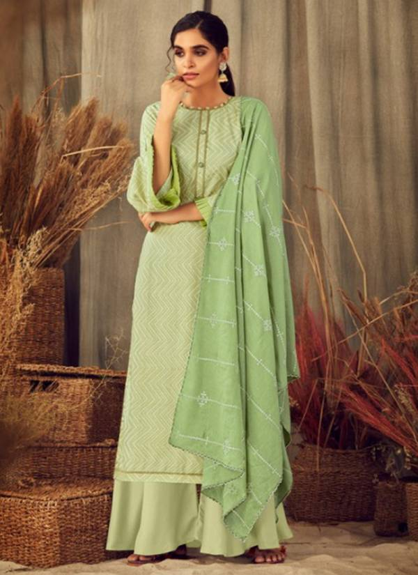 Radhika Fashion Blossom 2 Cotton With Fancy Digital Printed Work Designer Palazzo Suits Collection