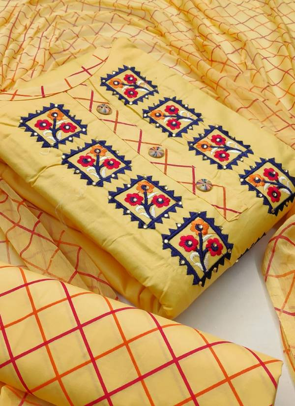 Designer Suits Series 551-554 PC Cotton New Designer Exclusive Dress Material Suits Collection