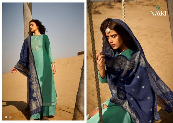 Naari Tapas Tusser Silk With Coding Work Fancy Palazzo Suits Collection