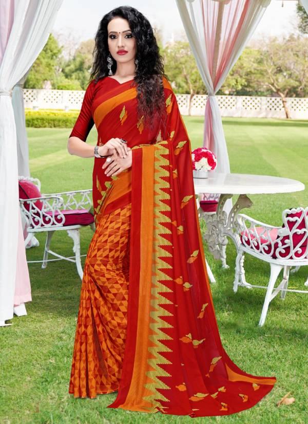 Kodas Halla Bol 77 Series 6085-6098 Heavy Rennial Printed Fancy Regular Wear Sarees Collection
