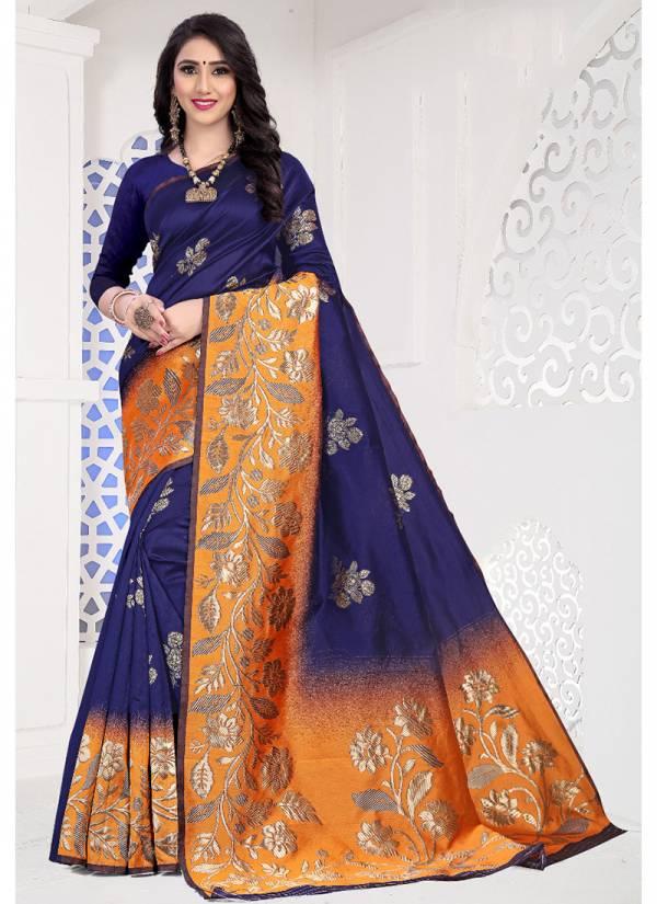 Kodas Saathiya Series 8377A-8377D Handloom Silk Traditional Wear New Designer Sarees Collection