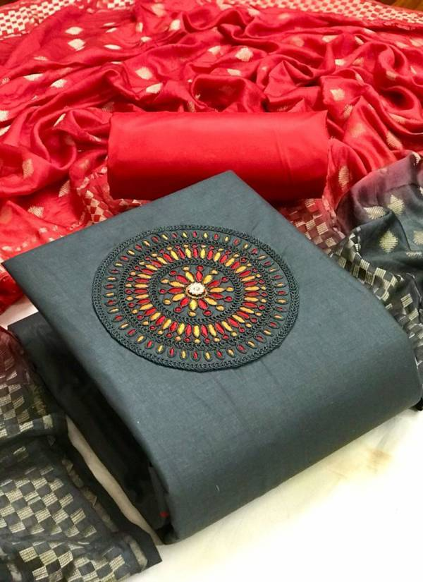 Designer Suit Coding Vol-2 Cotton With Codding Work Neck Salawar Suits Collection
