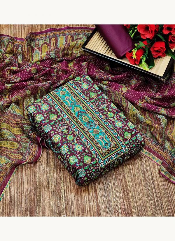Designer Suits pakistani Heavy Cotton With Floral Print Salwar Suits Drees Materiel Collection