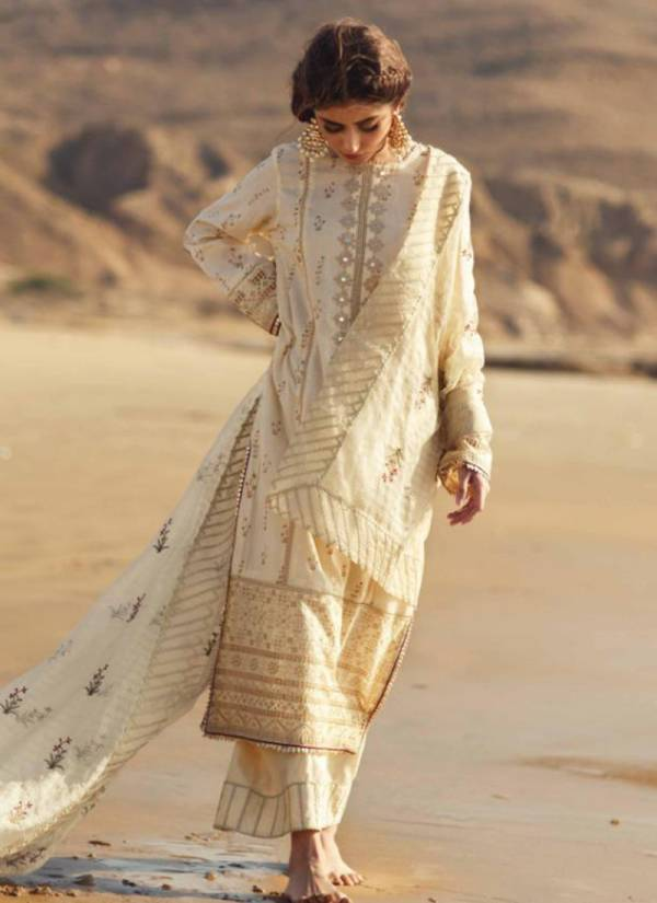 M3 Fashion Qalamkar Luxury Festive 20 Series 20001-20004 Cambric Cotton With Designer Embroidery Work Latest Pakistani Suits Collection