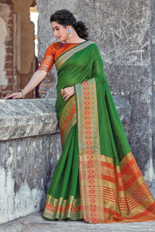 Sangam Lavanya V2 Cotton Wedding Wear Sarees Collection