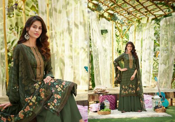 Vouch Fashion Rivaa Pure Jam Cotton Palazzo Suits Collection