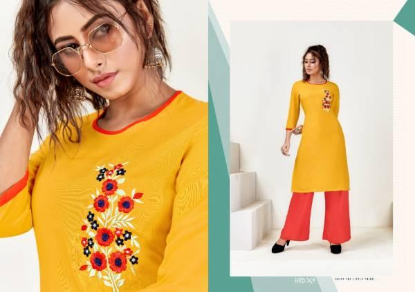 Venika Creation Pari Vol 6 Series 768-773 Premium Rayon With Embroidery Work Regular Wear Kurtis With Palazzo Collection