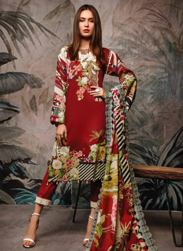 Deepsy Firdous Series 761-770 Latest Pakistani Designer Pure Cotton Print Casual Wear Suits Collection