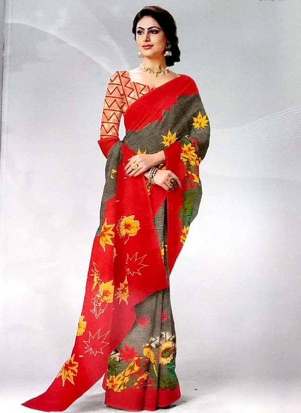 Deeptex Prints Kalamkari Vol 6 Series 6001-6020 Pure Printed Cotton Wholesale Prices New Fancy Daily Wear Sarees Collection