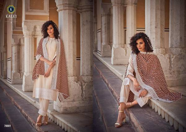 Kalki Fashion Khwaab Eid Special Readymade Lucknowi Salwar Suits Collection